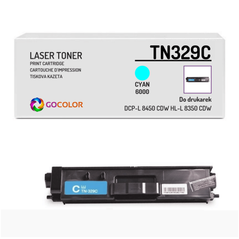 Toner do BROTHER TN329C Cyan Zamiennik
