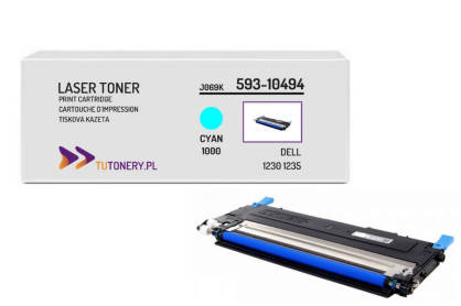 Toner do DELL 1230 1235 593-10494 Cyan Zamiennik