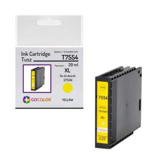 Tusz do EPSON T7554 XL Yellow Zamiennik
