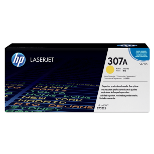 HP oryginalny toner CE742A yellow 307A
