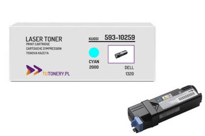 Toner do DELL 1320 KU051 Cyan Zamiennik
