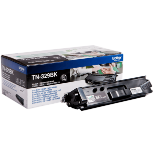 Brother oryginalny toner TN-329BK black