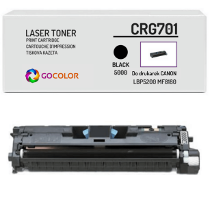 Toner do CANON CRG701 9287A003 Black Zamiennik