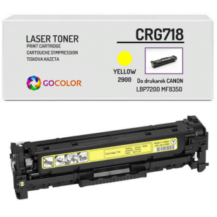 Toner do CANON CRG718 2659B002 Yellow Zamiennik