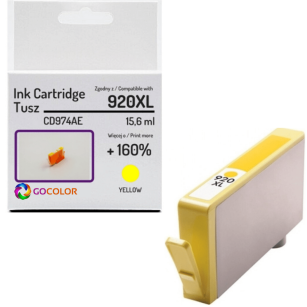 Tusz do HP CD974AE 920XL Yellow Zamiennik