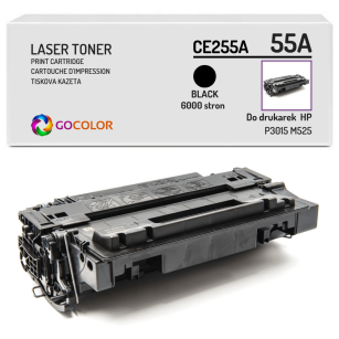 Toner do HP CE255A 55A P3015 M525 Zamiennik