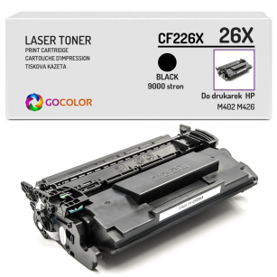 Toner do HP CF226X 26X M402 M426 Zamiennik