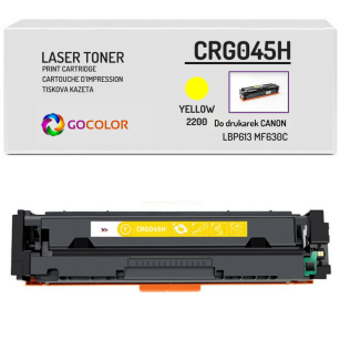 Toner do CANON CRG045H 1243C001 Yellow Zamiennik