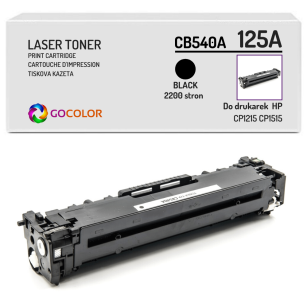 Toner do HP CB540A 125A CP1215 Black Zamiennik