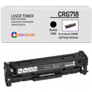 Toner do CANON CRG718 2662B002 Black Zamiennik