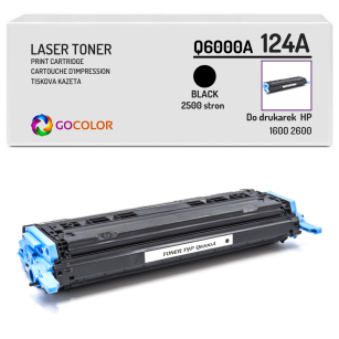 Toner do HP Q6000A 124A 1600 2600 Black Zamiennik