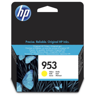 HP oryginalny Tusz F6U14AE 953 yellow 700s 10ml OfficeJet Pro 8218 8710 8720 8740