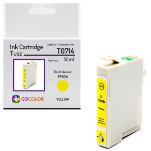 Tusz do EPSON T0714 Yellow Zamiennik