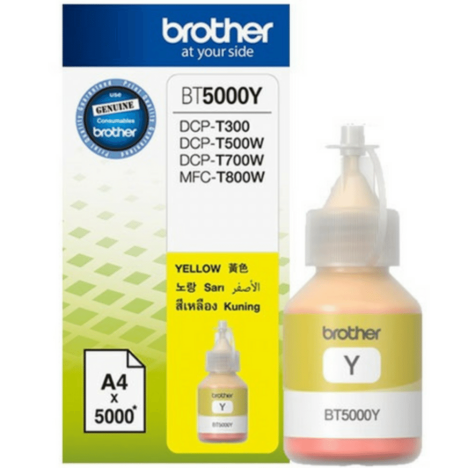 Brother oryginalny Tusz BT-5000Y yellow