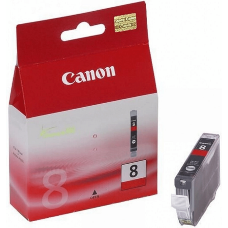Canon oryginalny Tusz CLI8R red 13ml 0626B001