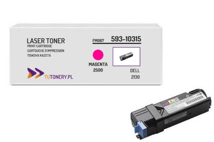 Toner do DELL 2130 2135 FM067 Magenta Zamiennik