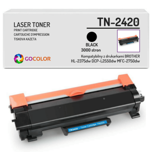 Toner do BROTHER TN-2420 BEZ CHIPA Zamiennik