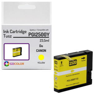 Tusz do CANON PGI2500Y XL 9267B001 Yellow 100 % nowy zamiennik