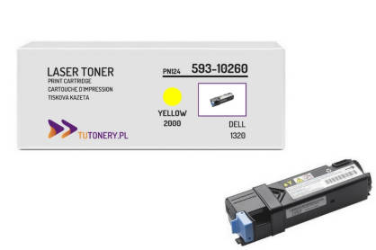 Toner do DELL 1320 PN124 Yellow Zamiennik