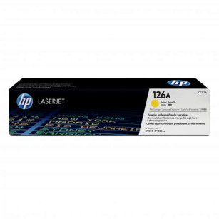HP oryginalny toner CE312A yellow 126A