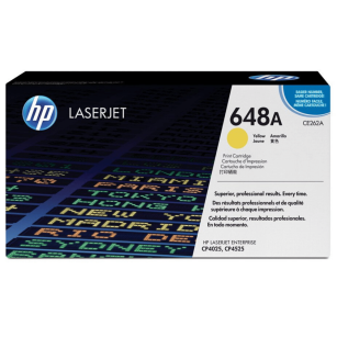 HP oryginalny toner CE262A yellow 648A
