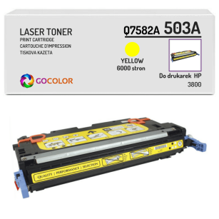 Toner do HP Q7582A 503A 3800 Yellow Zamiennik