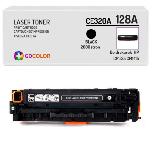 Toner do HP CE320A 128A CP1525 CM1415 Black Zamiennik