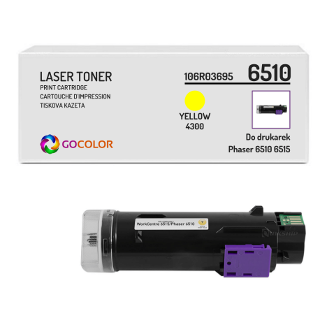 Toner do XEROX 6510 6515 106R03695 Yellow Zamiennik