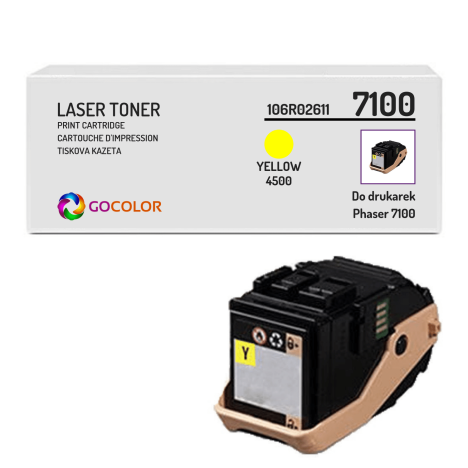 Toner do XEROX 7100 106R02611 Yellow Zamiennik