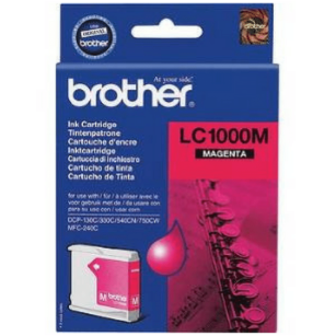 Brother oryginalny Tusz LC-1000M magenta