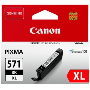 Canon oryginalny Tusz CLI571BK XL 0331C001 black 11ml high capacity PIXMA MG5750 MG7750