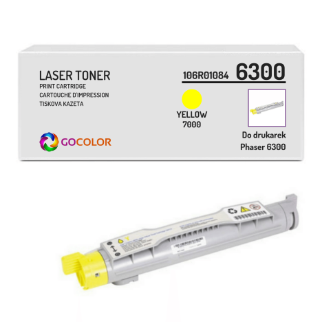 Toner do XEROX 6300 106R01084 Yellow Zamiennik