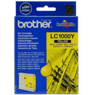 Brother oryginalny Tusz LC-1000Y yellow