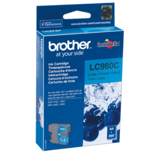 Brother oryginalny Tusz LC-980C cyan