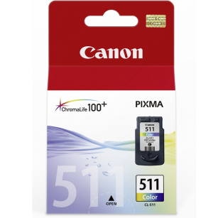 Canon oryginalny Tusz CL511 color 9ml 2972B001 MP240 MP 258 MP260