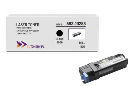 Toner do DELL 1320 DT615 Black Zamiennik